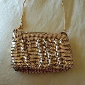 Gorgeous small gold purse!!